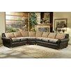 Omnia Furniture Vallarta Dreams Leather Sectional