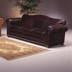 Omnia Furniture Sedona Leather Loveseat