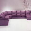 Omnia Furniture Tribeca Loft Leather Sectional