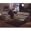 Omnia Furniture Vercelli Leather Living Room Set