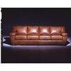 Omnia Furniture Prescott  4 Seat Sofa Leather Living Room Set