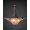 Toltec Lighting Apollo 3 Light Inverted Pendant