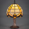 "Toltec Lighting 12"" H Table Lamp with Bowl Shade"