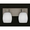 Toltec Lighting Apollo 2 Light Bath Bar