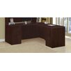 DMI Office Furniture Saratoga Executive Desk with Right/Left Junior