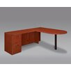 DMI Office Furniture Fairplex Right / Left Executive Bullet L Desk