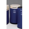 Witt Fiberglass Recycling 21-Gal Glass Industrial Recycling Bin