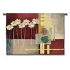 Fine Art Tapestries Abstract Contemp Crimson I by Carol Robinson Tapestry