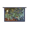 Fine Art Tapestries Classical Van Goghs Irises by Acorn Studios Tapestry