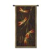 Fine Art Tapestries Abstract October Song II by Ichter Tapestry