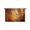 Fine Art Tapestries Abstract Flaxen Silhouette by Aparicio Tapestry
