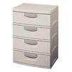 "Sterilite 37.38"" H x 20.13"" W x 27.25"" D Storage Cabinet"
