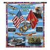 Pure Country Weavers Land, Sea, Air Tapestry