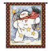 Pure Country Weavers Dancing Snowman Tapestry
