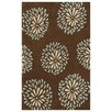 Noble House Blossom Blue Area Rug