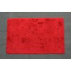 Noble House Crystal Solid Red Area Rug
