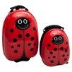 TrendyKid 2 Piece Lola LadyBug Children's Luggage Set