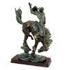 Design Toscano Wild West Bronco Buster Figurine