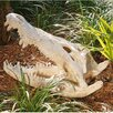 Design Toscano Crocodile Skull Artifact Statue