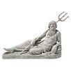 Design Toscano Neptune of St. John's Lock, River Thames Statue