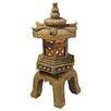 Design Toscano Sacred Pagoda Lantern Illuminated Statue