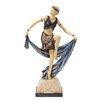 Design Toscano Flapper Follies Cabaret Girl Figurine