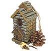 Design Toscano Cabin Backwoods Birdhouse