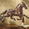 Design Toscano Saddler's Row Metal Horse Wall Frieze