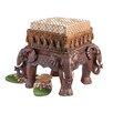 Design Toscano The Maharajah's Elephants Sculptural Ottoman