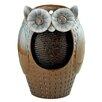 Design Toscano Resin Professor Owl Cascading Garden Fountain