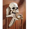 Design Toscano Begger for Souls Skeleton Wall Sculpture
