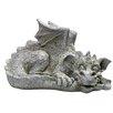 Design Toscano Blushing Babel The Bashful Dragon Statue