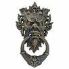 Design Toscano Vecchio Greenman Authentic Iron Door Knocker