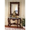 Design Toscano Royal Baroque Console Table and Mirror Set