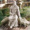 Design Toscano In Nature's Sanctuary St. Francis Garden Statue