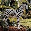 Design Toscano Zairen Zebra Statue