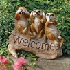 Design Toscano The Meerkat Menagerie Welcome Statue