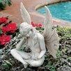 Design Toscano The Secret Garden Gazing Fairy Statue