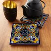 Native Trails, Inc. Moroccan Midnight Hand Painted Trivets (Set of 2)