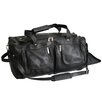 "Royce Leather Luxury Colombian Genuine 21.5"" Leather Carry-On Duffel"