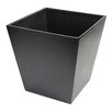 Royce Leather Genuine Leather Executive Waste Paper Basket Trash Can