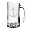 Susquehanna Glass 16 Oz. Anchor Pub Beer Mug (Set of 4)