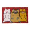 Geo Crafts, Inc Cats Doormat