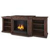 Real Flame Valmont TV Stand with Gel Fireplace