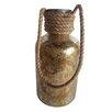 BIDKhome Fall Glass and Twine Farmer's Jar