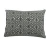 BIDKhome Flora Cotton Lumbar Pillow