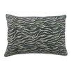 BIDKhome Zebra Cotton Lumbar Pillow