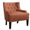 Poundex Bobkona Ansley Blended Linen Arm Chair