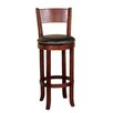 """Sunny Designs Cappuccino 30"""" Swivel Bar Stool with Cushion"""