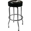 """On The Edge Marketing Lady Silhouette 30"""" Bar Stool with Cushion"""